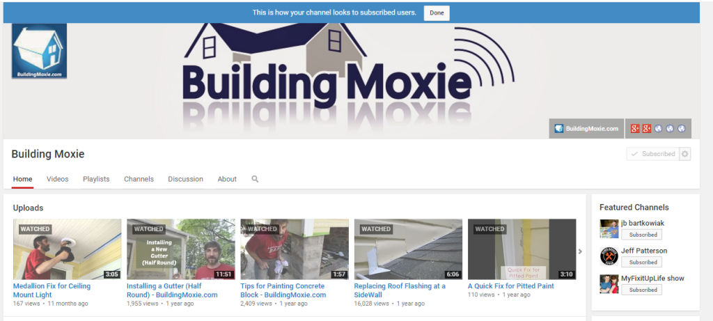 BuildingMoxie_on_YouTube