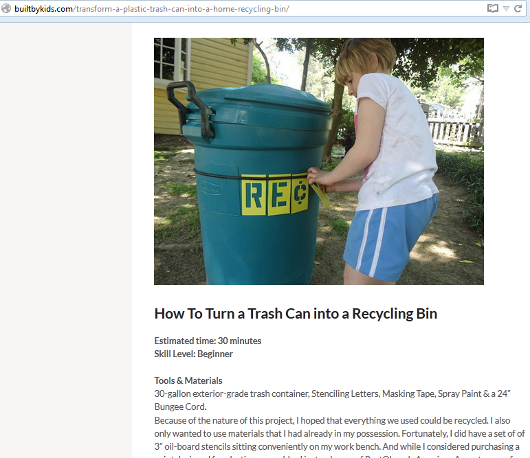 BuiltbyKids_Trash Can to Recycling Bin